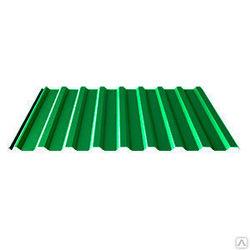 Профнастил МП-20*1100*6000 толщ. 0,45мм RAL6002 (Зелёный лист)