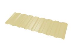 Профнастил МП-20*1100*6000 толщ. 0,45мм RAL1015 (Светлая слоновая кость)