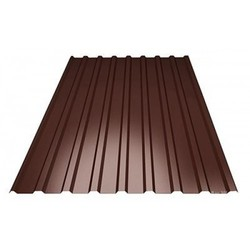 Профнастил МП-20*1100*6000 толщ. 0,45мм RAL8017 (Коричневый шоколад)