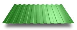 Профнастил С-10*1100*6000 толщ. 0,45мм RAL6002 (Зелёный лист)
