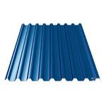 Профнастил С-10*1100*6000 толщ. 0,45мм RAL5005 (Синий насыщенный)