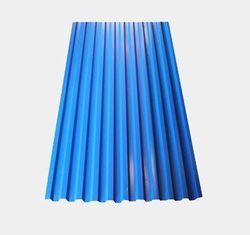 Профнастил С-21*1000*6000 толщ. 0,45мм RAL5005 (Синий насыщенный)
