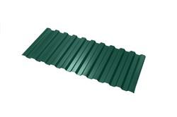 Профнастил С-21*1000*6000 толщ. 0,45мм RAL6005 (Зелёный мох)