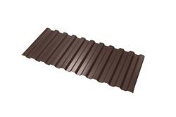 Профнастил С-21*1000*6000 толщ. 0,45мм RAL8017 (Коричневый шоколад)