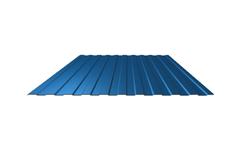 Профнастил С-8*1150*6000 толщ. 0,45мм RAL5005 (Синий насыщенный)