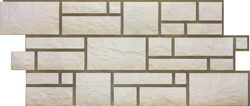 Панель Юрский мрамор (Burg) Docke-R (Белый)