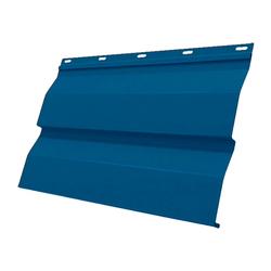 Сайдинг МП СК-14х226 Полиэстер 25мкм 0,45 (RAL 5005 Синий насыщенный)