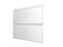 Сайдинг Lбрус-15х240 Полиэстер 25мкм 0,45 (RAL 9003 Белый)