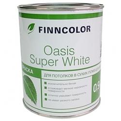 Краска OASIS SUPER WHITE для потолков 3 л