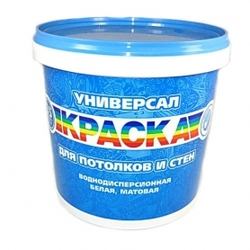 Краска РАДУГА УНИВЕРСАЛ в/д (3,5кг)