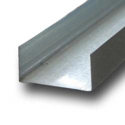 УСИЛЕННЫЙ  Профиль направляющий ПН-4 (75*40) 3 м.  0,5мм