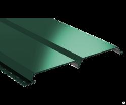 Сайдинг Lбрус-15х240 Полиэстер 25мкм 0,45 (RAL 6005 Зелёный мох)