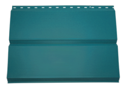 Сайдинг Lбрус-15х240 Полиэстер 25мкм 0,45 (RAL 5021 Синяя вода)