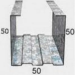 Профиль стоечный ПС-2 (50*50) 3м