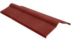 Коньковый элемент ONDULINE красный 1.0*0.36м