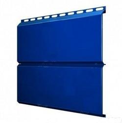 Сайдинг Lбрус-15х240 Полиэстер 25мкм 0,45 (RAL 5005 Синий насыщенный)