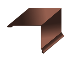 Планка торцевая 135х145х2000