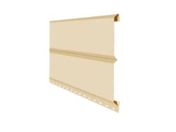 Сайдинг Lбрус-15х240 Полиэстер 25мкм 0,45 (RAL 1014 Слоновая кость)